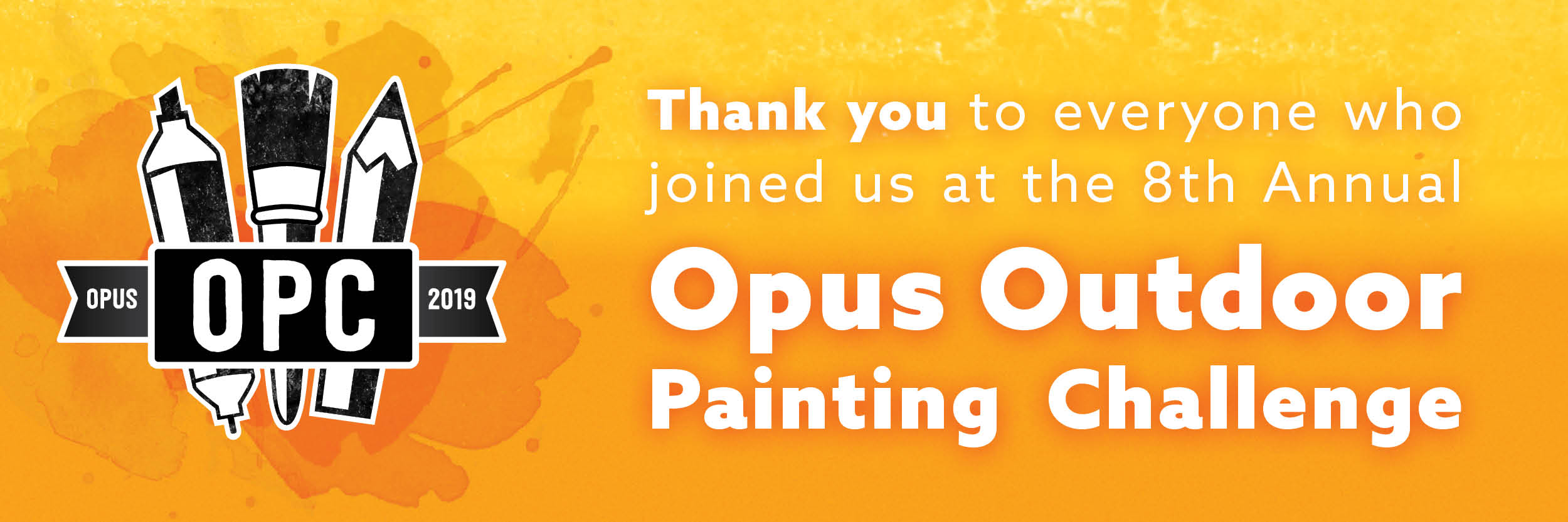 Thank you<br /> to everyone who joined their creative community for the 8th Annual #OpusOPC!