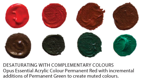 Another Way That Artists Can Achieve Desaturated Colours Is By Adding A Neutral Grey You Either Create Your Own Or Use It Straight From