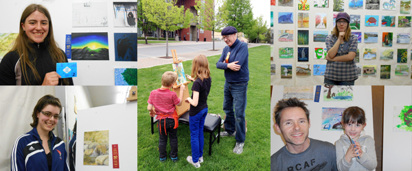 Kelowna Outdoor Painting Challenge: May 10, 2014