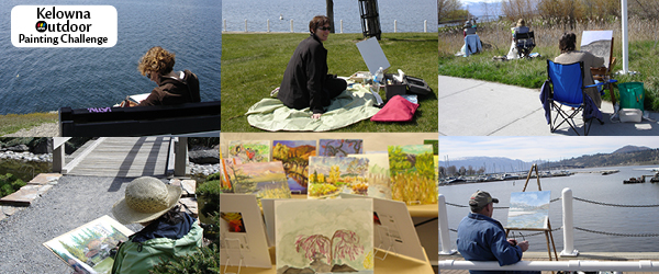 Kelowna Outdoor Painting Challenge – April 21, 2012