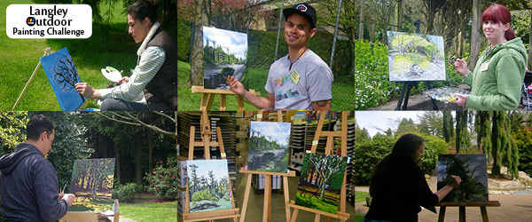 Langley Outdoor Painting Challenge – April 21, 2012