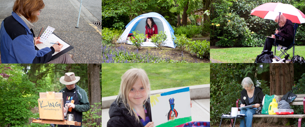Langley Outdoor Painting Challenge: May 10, 2014
