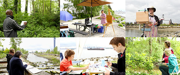 North Vancouver Outdoor Painting Challenge: May 10, 2014