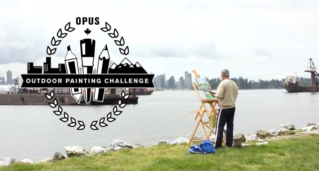 Opus Outdoor Painting Challenge 2015 Video Link