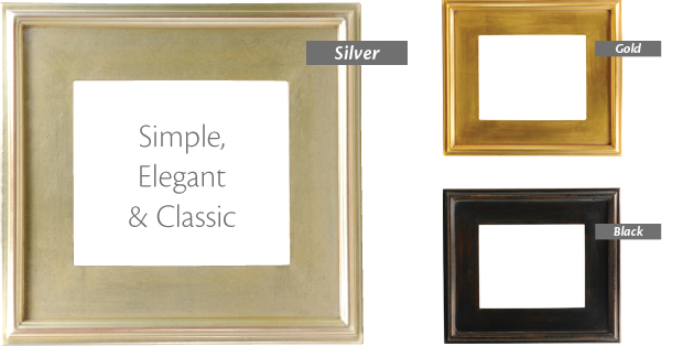 antique look frame that honours the tradition of plein air gussets reinforce the perfect 90 corner complement artwork on canvas board
