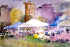 Watercolour Workshop: Painting in the Park