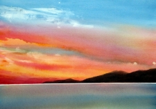 Skies Unlimited: Letting Loose with Watercolour