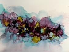 Alcohol Inks in Abstraction and Realism