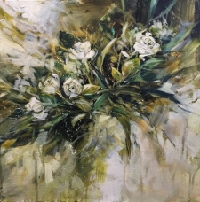 Painting Impressionistic Florals with Acrylics