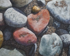 Painting Photo-realistic Rocks and Sand