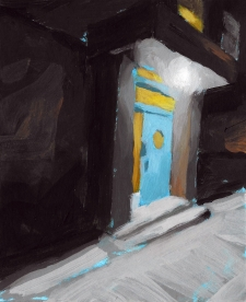 Painting Acrylic Nocturnes