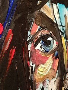 Abstract Acrylic Portraits In A Flash!