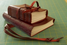 Bookbinding with Leather