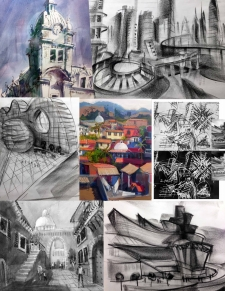Travel Sketching - Perspective Drawing