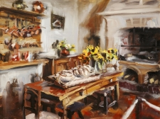 Painting Floral with Oils: Finishing Tips