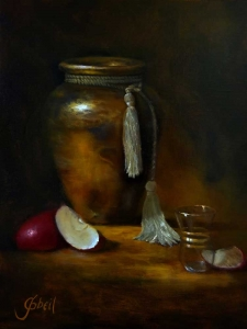 Old World Master's Oil Painting