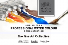 Winsor & Newton Professional Watercolour Demonstration