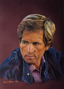 Painting a Portrait with Coloured Pencils