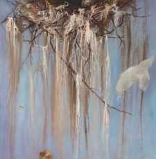 Acrylics: Incorporating Abstract and Realism in a Nest