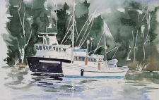 Marine Art with Watercolours