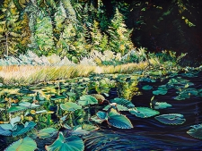 Acrylic Landscapes with Oomph!