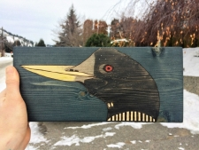 Go with the Flow: Working with a Wood Canvas