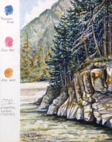 Painting with a Limited Palette in Watercolour