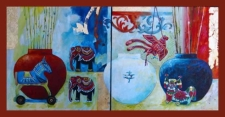 Workshop: Layer and Glaze with Fluid Acrylics