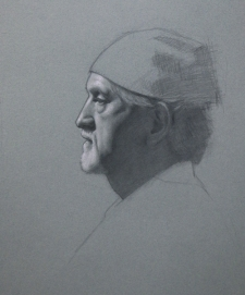 Classical Realist Portrait Drawing