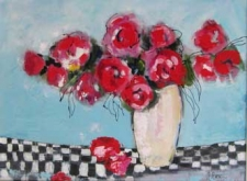 An Impressionistic Approach to Painting Florals