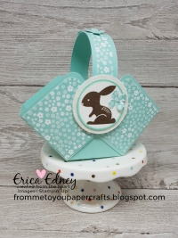 Adorable Easter treat basket