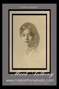 Traditional Portrait Drawing Studies - Old World Techniques