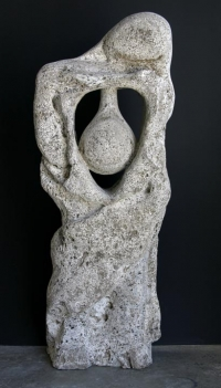 5 foot high Tufa sculpture