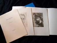 3 letterpress printed pages, 10 etchings, a monotype wrap all in a slipcase, edition of 10, 2011.