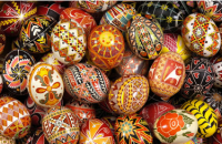 Beautiful pysanky