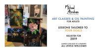 Art Classes with Michael Abraham for Adults