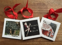 Mini Canvas Decorations