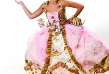 Picture of a wearable art dress
