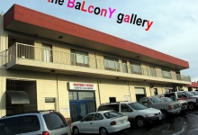 the BALCONY gallery at Xchanges in Victoria