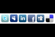 Going social online icons