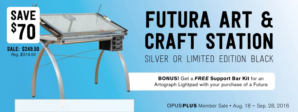 Save $70 on the Futura Arts & Crafts Station