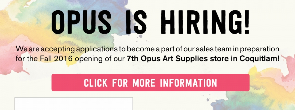 Opus Coquitlam is Hiring