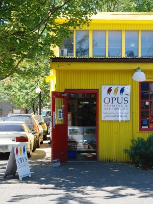 Granville Island - Opus Art Supplies