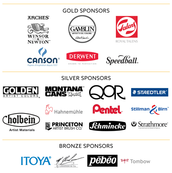List of gold, silver, bronze sponsors for OPC 2019