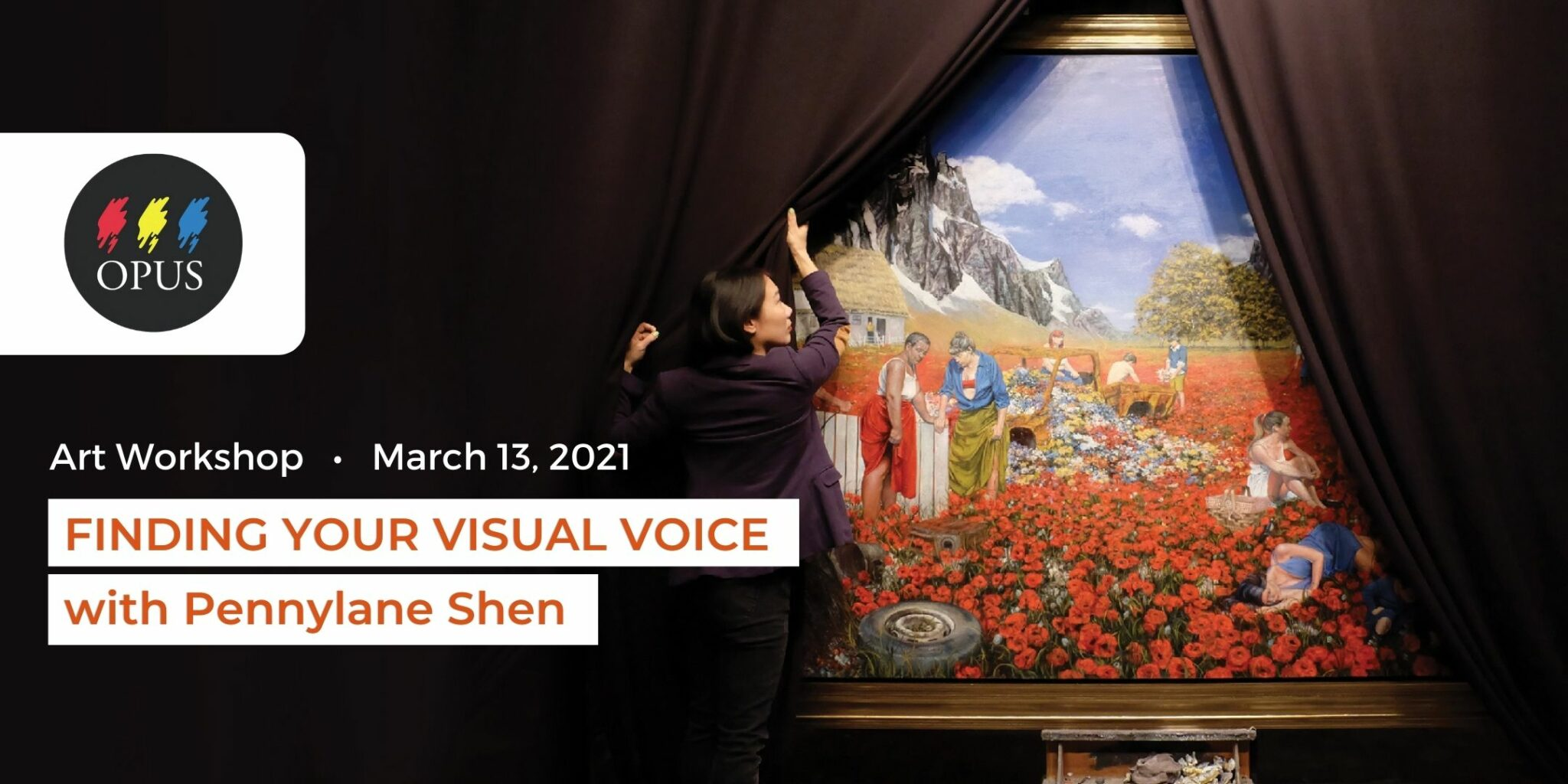 Event: Finding Your Visual Voice with Pennylane Shen