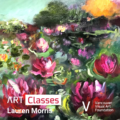 Abstract Water Lillies - Art Class | Hosted by VVAF