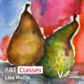 Pears in Watercolor - Art Class | Hosted by VVAF